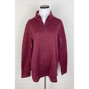 Lands End Outfitters Fleece Pullover Sweatshirt